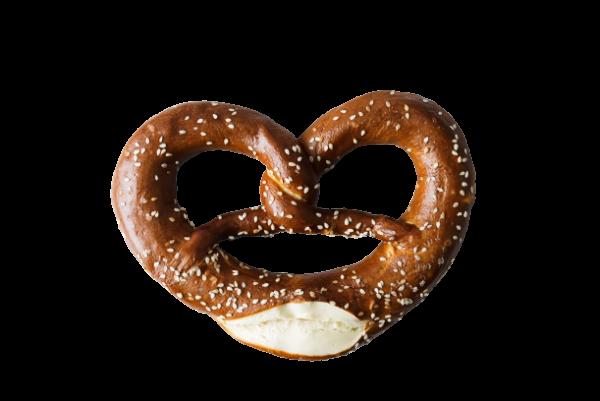 sesame pretzel
